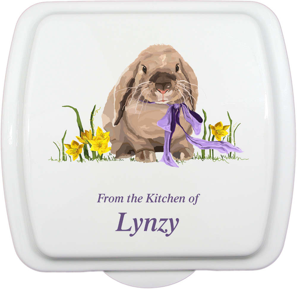 9x9 spring bunny design traditional pan that 39 s for 9x9 kitchen designs