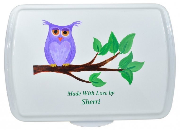 9x13 Owl Baking Pan Owl Cake Tin That S My Pan