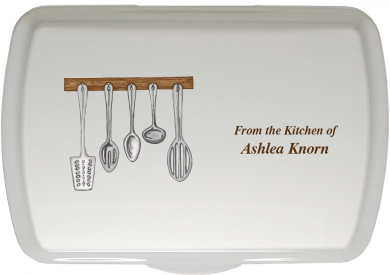 Kitchen Utensil Pans Personalized Kitchen Baking Trays