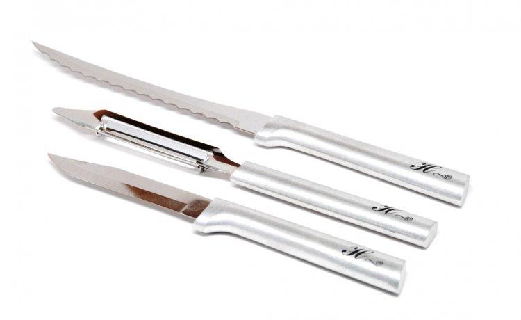 Monogrammed Rada Peel Pare Amp Slice Gift Set 29 99