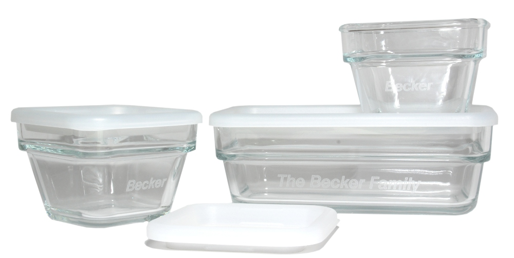 Custom Glass Containers Personalized Food Containers
